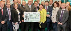 Minister for Foreign Affairs Charlie Flanagan launches Irish Passport Card for use in 30 European Countries